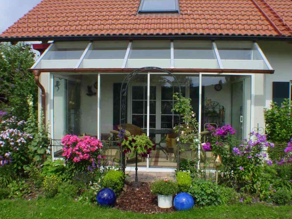 Terrassenüberdachung vom Fachmann - Hofer Pools