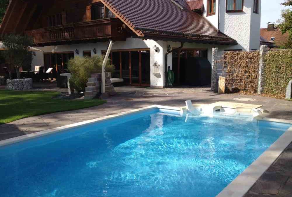 Poolbau in Eichenau