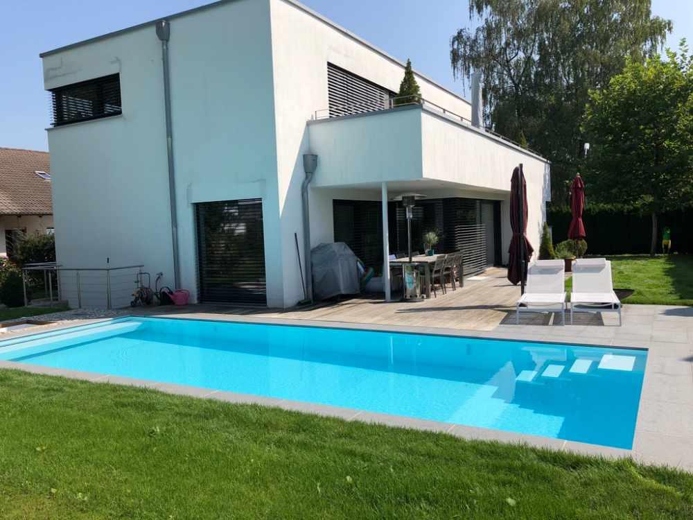 Moderner Badespaß in Hohenbrunn, Gesamtbild des Projektes